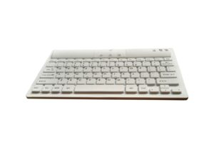 77 keys Bluetooth medical industrial keyboard with rechargeable built-in battery by PC USB cable