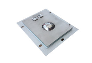 IP65 stainless steel 38.mm trackball pointing device with USB