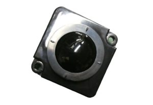 25.mm black mechanical trackball pointer device with ESD housing