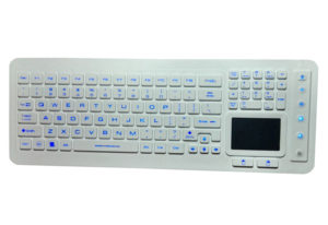 touchpad medical keyboard with backlight