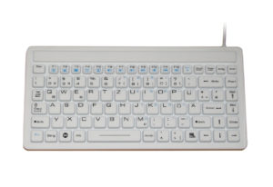EN60601 87 key keyboard only with flat design, with backlight optional