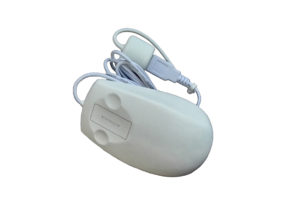 Touch scroll medical optical mouse by antibacterial silicone rubber