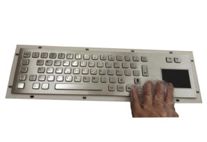industrial touchpad keyboard