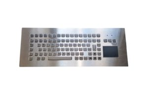 89-key big panel industrial keyboard with separate FN keys and studs