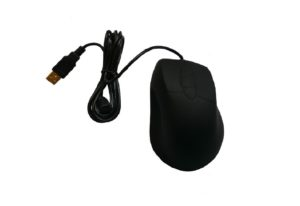 Durable silicone rubber optical mouse with big size for industrial medical use