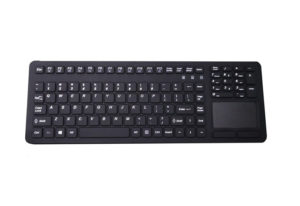 IP68 silicone industrial touchpad keyboard with full function for nitrile gloves