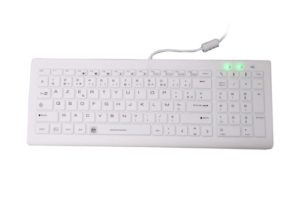 medical keyboard with x structure
