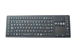 IP65 waterproof industrial keyboard with touchpad mouse & multimedia keys