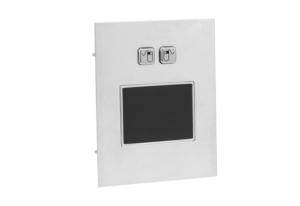 flush mounted touch pad