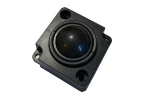 IPC black optical trackball 25mm with USB PS2 Output